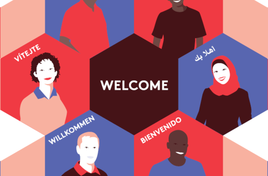 Intercultural Mission Welcome Poster