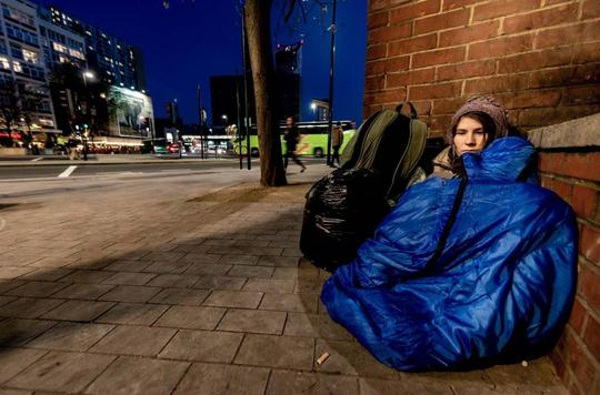 homeless rough sleeping
