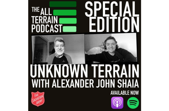 Unknown terrain podcast promo image thumbnail