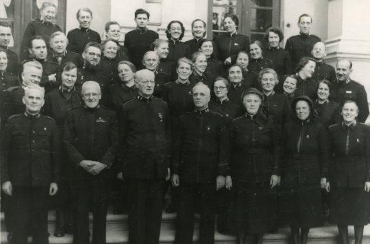 Czechoslovakian Salvation Army officers