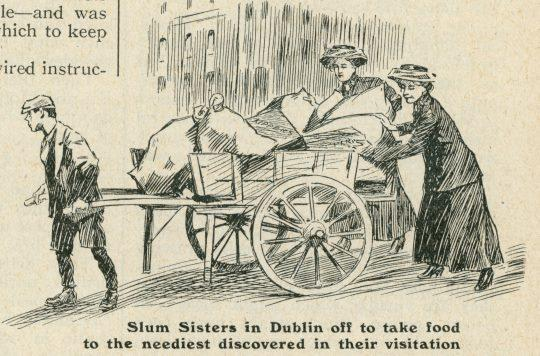 Illustration of Dublin Slum Sisters