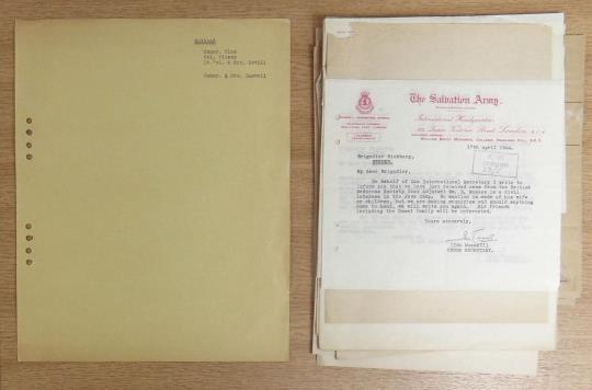 File from the Swedish Territorial papers
