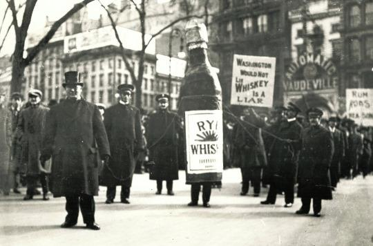 Boozers' Day parade, New York, c1910
