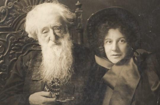 William Booth with his daughter Evangeline