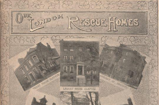 Three of The Salvation Army's London rescue homes