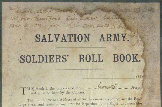 Consett Soldiers' Roll Book