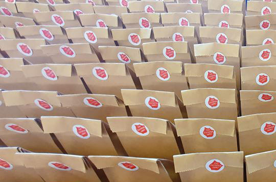 Wellbeing packs from The Salvation Army