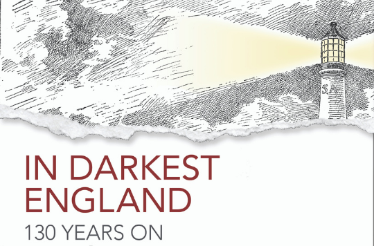 Logo for In Darkest England book