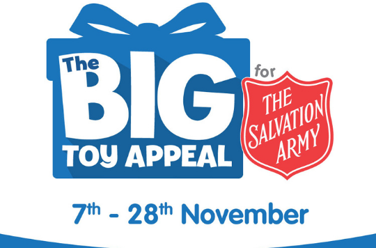 Logo for The Big Toy Appeal with The Entertainer 2020
