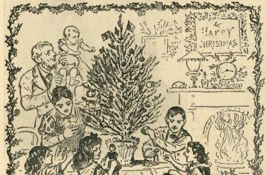 Christmas scene from 'The War Cry'