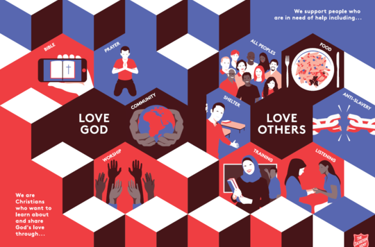 Preview of English version of Intercultural Mission leaflet artwork