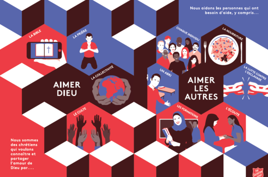 Preview of French version of Intercultural Mission leaflet artwork