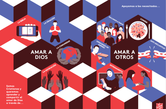 Preview of Spanish version of Intercultural Mission leaflet artwork