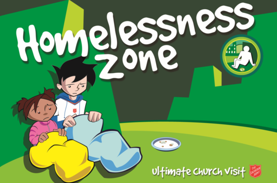 Homelessness Zone Presentation Template