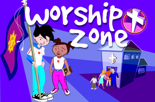 KS1 Worship Zone Pupil Sheet