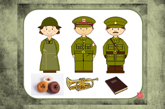WW1 EY Resource Sheet 1D Matching Objects