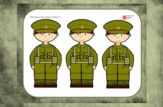 WW1 EY Sensory Story For Small Groups