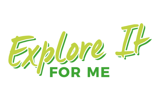 Explore It 'for me' logo in green