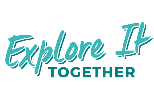 Explore It 'Together' logo in blue