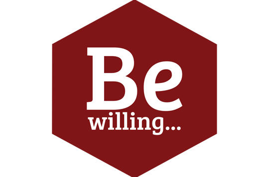 Be Willing Logo