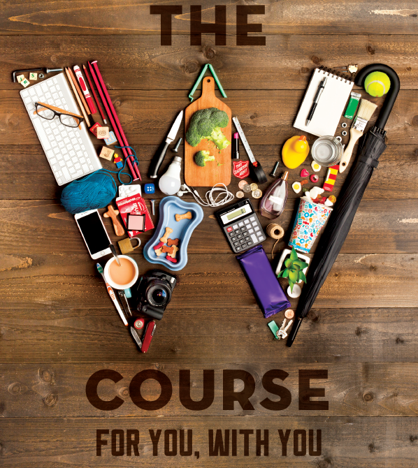 The W Course front cover