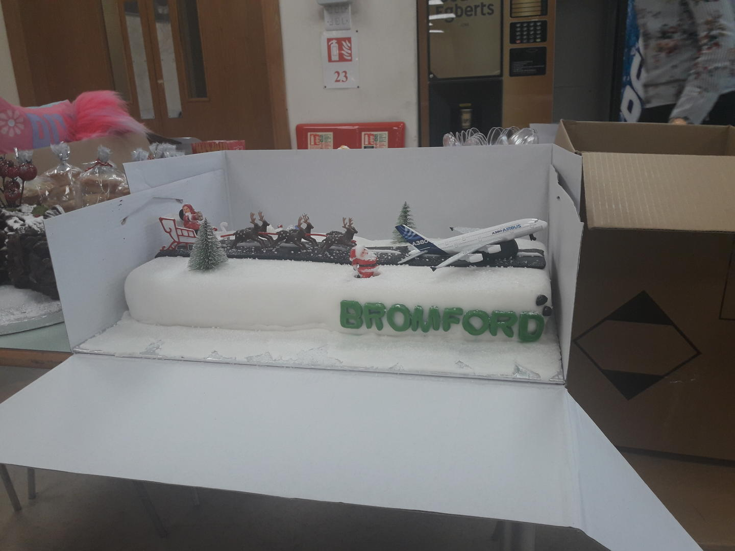 Salvation Army work place fundraisers Bromford Industries