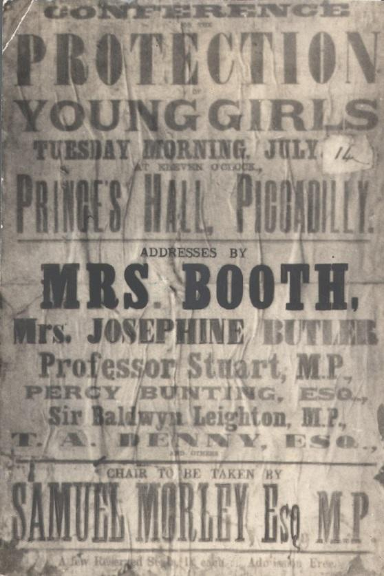 Catherine Booth and Josephine Butler conference