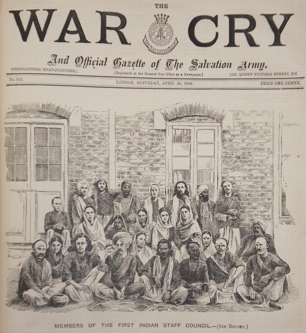 Indian Staff Council, War Cry 1888