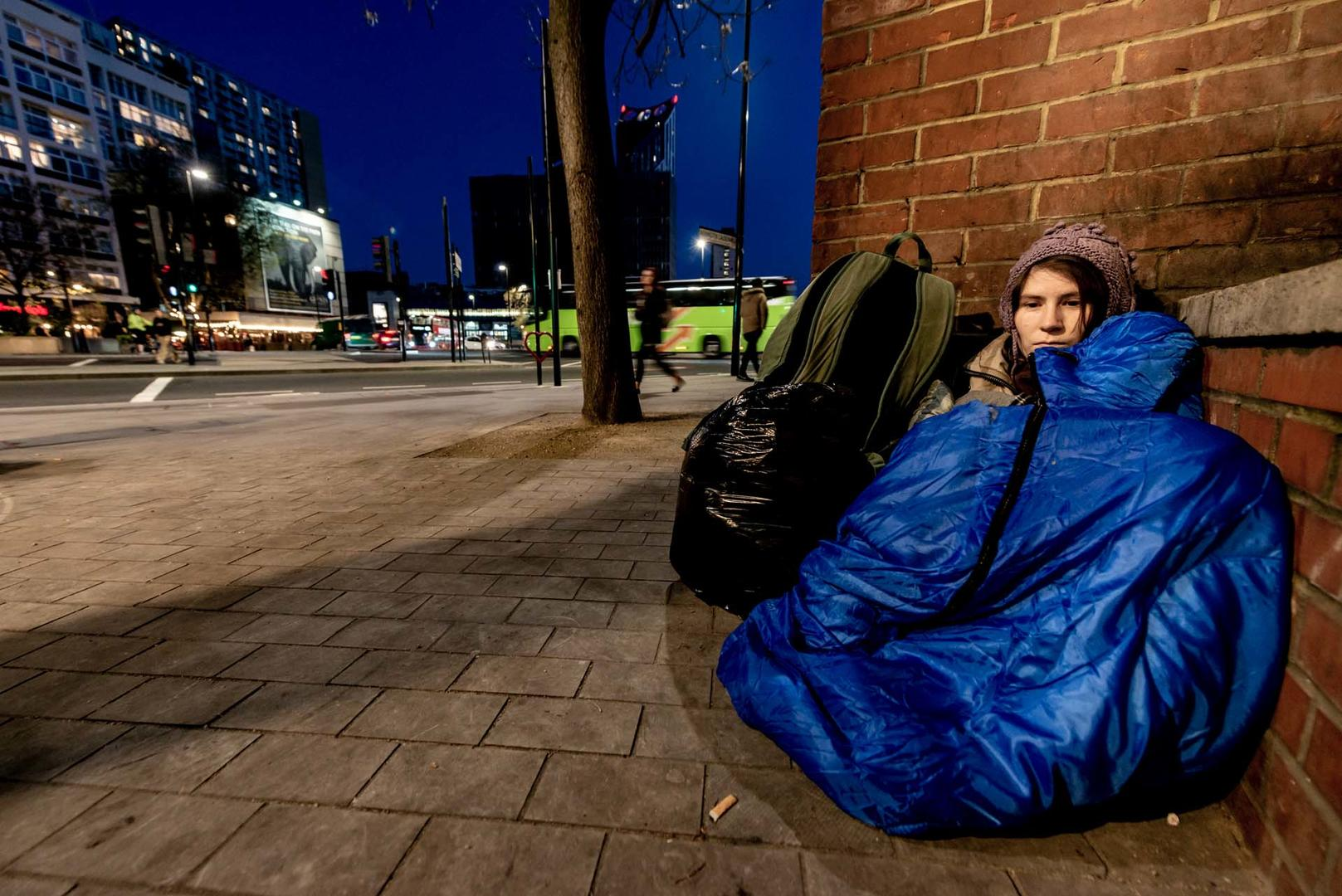 rough sleeper