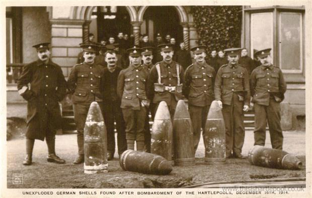 Unexploded Shells Hartlepool