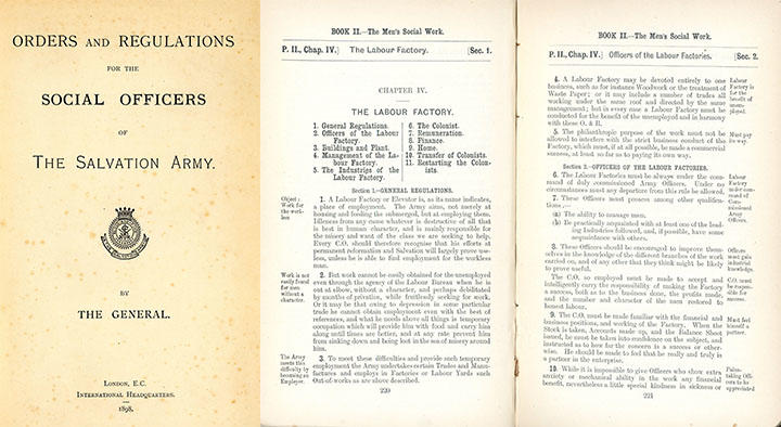 Orders and Regulations for the Social Officers of The Salvation Army