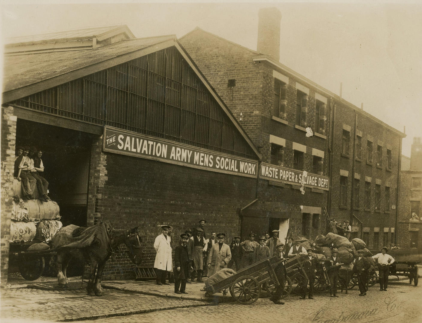 Salvation Army Waste Centre in Liverpool