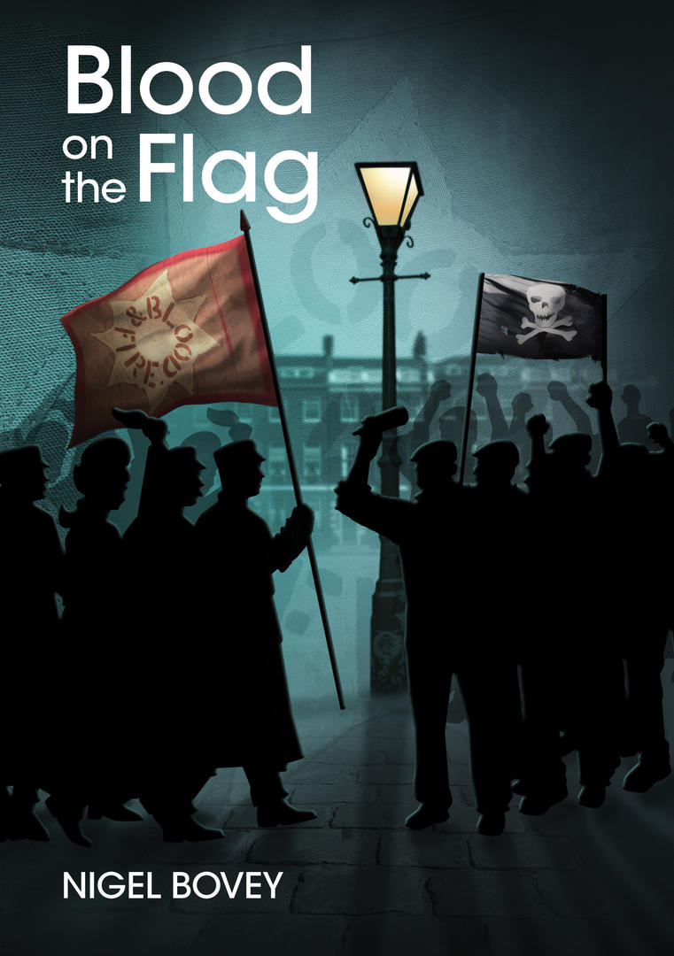 blood on the flag book cover