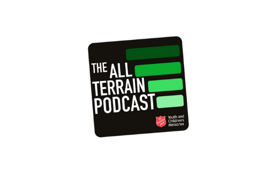 The All Terrain Podcast logo