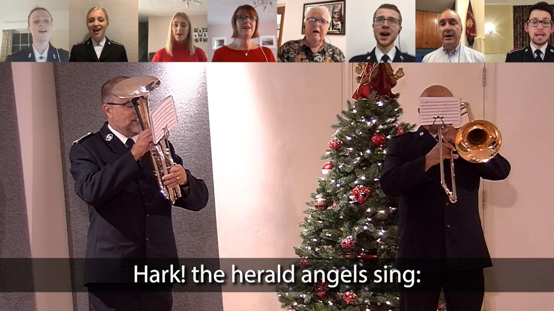 Hark the Herald video