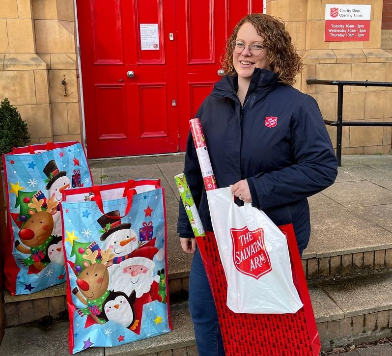 launch of christmas present appeal in Barrow-in-Furness