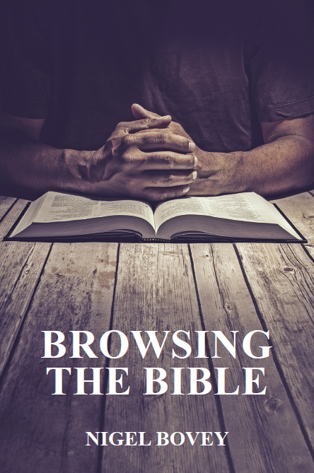 Browsing the Bible by Major Nigel Bovey