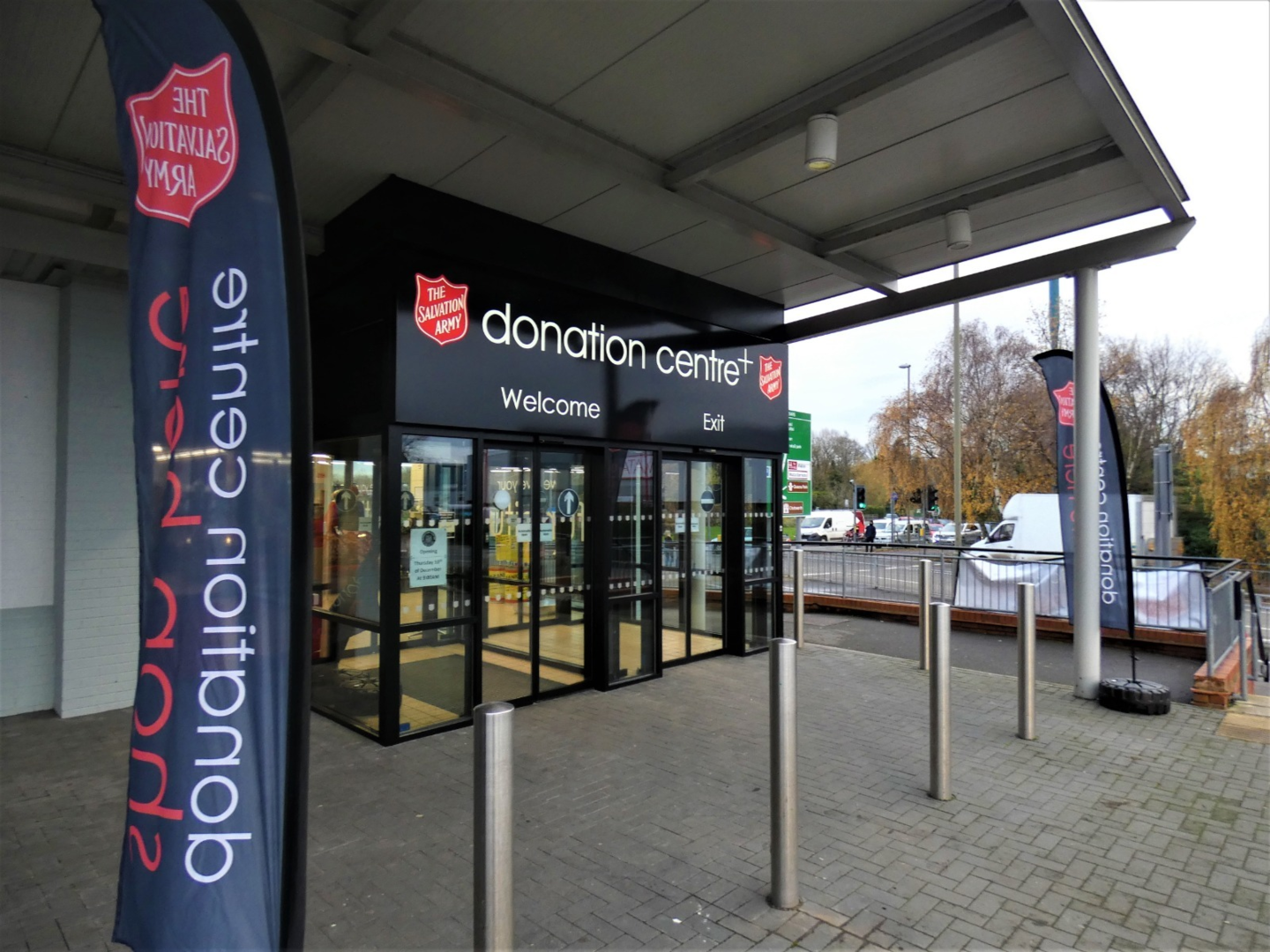 Chesterfield Donation centre