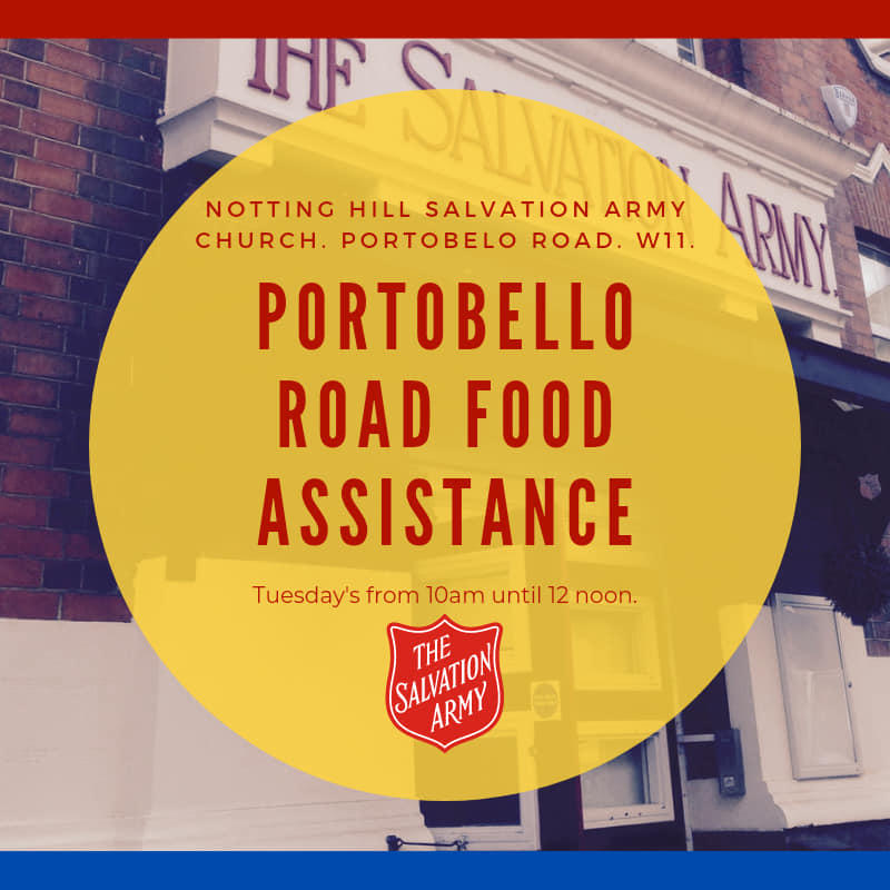 Notting Hill Church Food Assistance