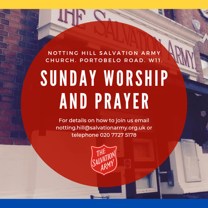 Notting Hill Church Online Worship and Prayer